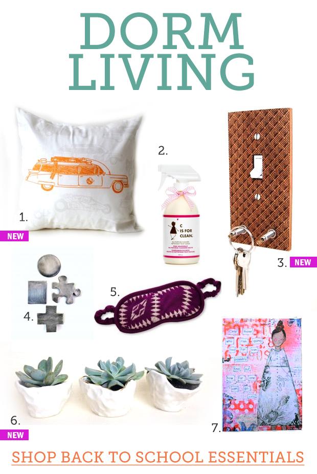 Dorm Living - Shop Back to School Essentials